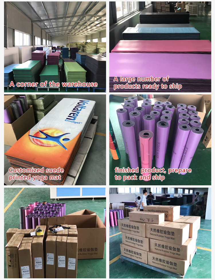 rubber yoga mat manufacturer