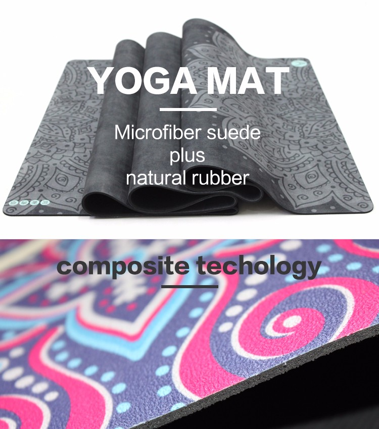 suede yoga mats
