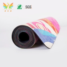 Rubber suede Yoga Mat