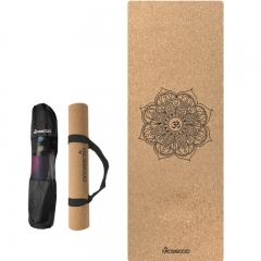 waterproof cork yoga mat