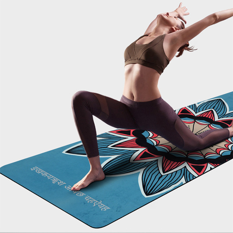 Videos about suede yoga mats
